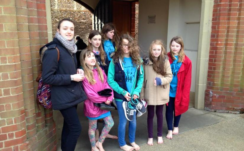 Walsingham Children's Pilgrimage 2015